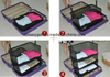 Easily Maintain Sweaters Shape Six Side Pockets Travel Organizer ESG10263