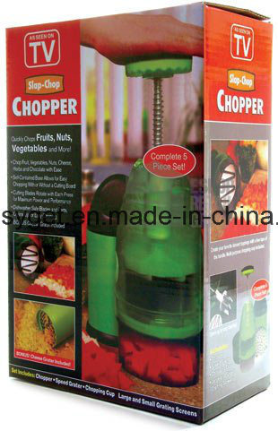 Slap Chop Vegetable Chopper Slicer and Dicer Cheese Grater ESG10167