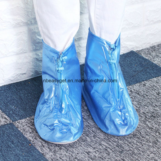 Rain Shoes Transparent Waterproof Snow Men Women Rain Boots ESG10598
