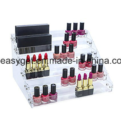 Acrylic 5 Layer Nail Polish Rack Tabletop Display ESG10426