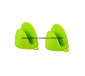 Oven Mini Mitt Silicone Pot Holder Cooking Pinch Grips ESG10301
