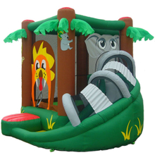 Inflatable Castle Large Kids Garden Bouncy Castle and Slide
