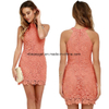 Lace Bodycon Sexy Women off Shoulder Maxi Vintage Dress ESG10250