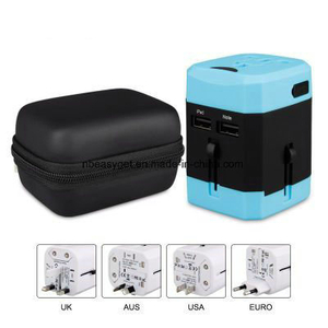World Adapter Plug Travel Adapter Charger USB Charging Ports ESG10540