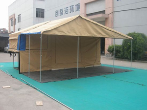 Trailer Tent / Camping Tent / Awning / Family Tent (Get-1910)