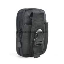 Outdoor tactical leather cover military belt mobile phone bag ESG10270