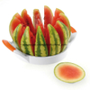 Germany Large Stainless Steel Slicer with Blade Protection, Slices Fruit, Melons, Watermelon, Pineapple, and More Simply Get 12 Perfect Slices