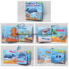 Baby soft book folding cloth book manual education toys ESG10342
