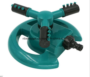 Lawn Sprinkler Automatic Garden Water Sprinklers Lawn Irrigation System 3600 Square Feet Coverage Rotation 360 Degree