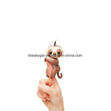 Fingerlings Interactive Baby Sloth Puppet, (Brown) Interactive Baby Pet ESG10348