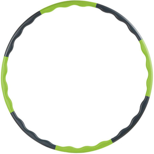 Fitness Exercise Hula Hoop 8 Section Detachable Design with Wave-Shaped ESG12865
