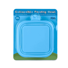 Collapsible Pet Bowl Double Silicone Portable Travel Bowl Equipped with Aluminum Hook Clip ESG12380