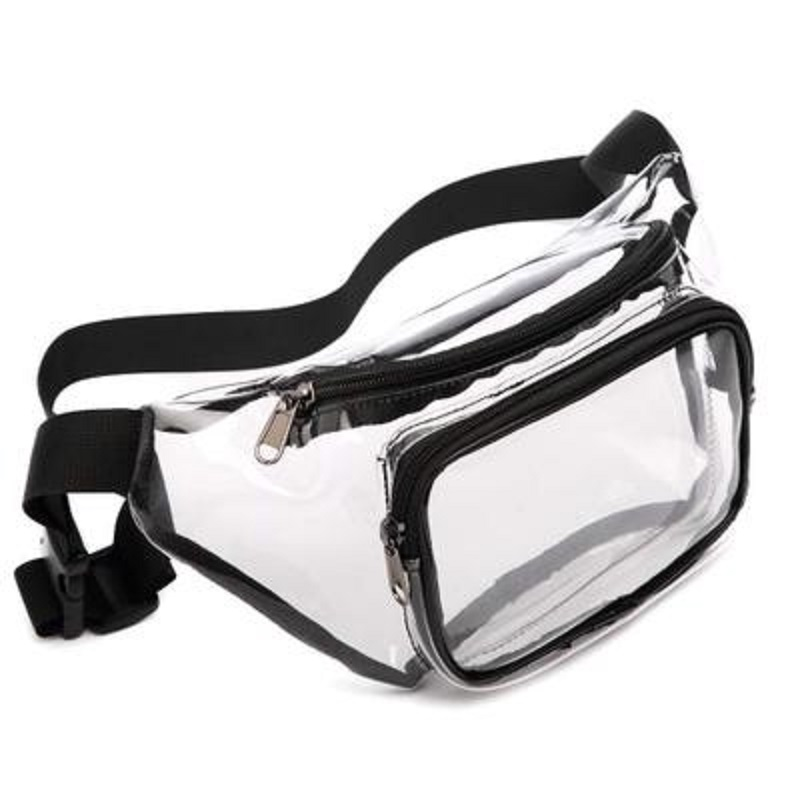 Waterproof Cute Waist Bag Transparent with Adjustable Belt ESG13368