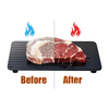 Defrosting Tray Aluminum Thawing Plate for Faster Defrosting Frozen Food ESG11896